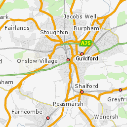 Guilford England Map.Planning Information Map Guildford Borough Council